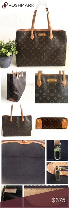 6237517b2de8 🌴Host Pick🌴Authentic Louis Vuitton Wilshire MM Back to Basics HP by  Cynthia  cmjla 10 12 16💕Authentic Louis Vuitton Monogram Wilshire MM.
