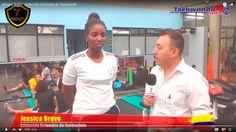 Jessica Bravo - Selección Colombia de Taekwondo, rumbo al mundial Muju 2017, Corea del Sur
