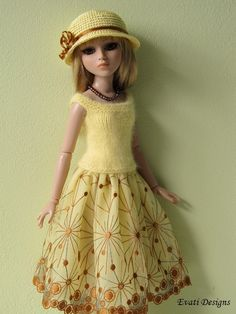 Evati OOAK Outfit for Ellowyne Wilde Amber Lizette Tonner 4 | eBay Ends 9/22. Sold for $91.00.