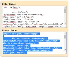Html To Xml Pr Code Converter Generator This Is A Free Service Online It Allows You Convert
