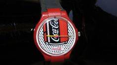 1980s Swatch Watch. I had about 5 Swatch watches and a Coca-Cola watch to go with my Coca-Cola shirt!