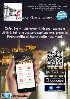"""sacrica GRATUITAMENTE l'App """"Visit Francavilla al Mare"""""""