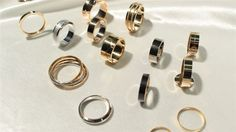 fedi ed anelli modelli vari in oro 18kt