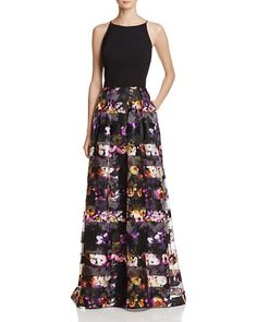 $AQUA Two-Piece Gown - Bloomingdale's
