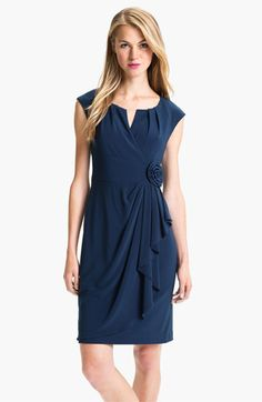 Adrianna Papell Cap Sleeve Sheath Dress available at #Nordstrom