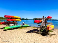 Rent Kayaks or Watercraft at Ludington State Park. Check out the beach! . Best State Park in Michigan, perfect for kayaking, camping, bird watching, hiking and sight seeing! . . #ludingtonmichigan #ludingtonmichiganthingstodo #ludingtonstatepark #ludington #ludingtonstateparkmichigan #ludingtonmi #michiganstateparks Ludington Michigan, Ludington State Park, Michigan State Parks, Michigan Travel, Things To Do, Good Things, Kayaks, Water Crafts, Go Camping
