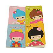 Corea del modello della bambola Notebook (col... – EUR € 0.95