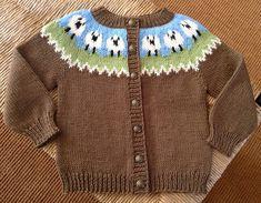 Ravelry: Project Gallery for Tulip Yoke Baby Cardigan pattern by Jennifer Little