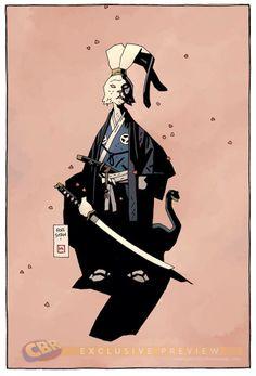Usagi Yojimbo by Mike Mignola