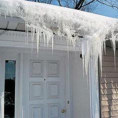 If you have persistent ice dams, and other solutions are difficult to implement, don't hesitate to use deicing cables. They are inexpensive and easy to install if you have an outside outlet nearby.