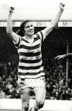 Robin Friday of Reading in 1974.
