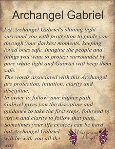 Archangel Gabriel. http://www.whisperingangels.co.za