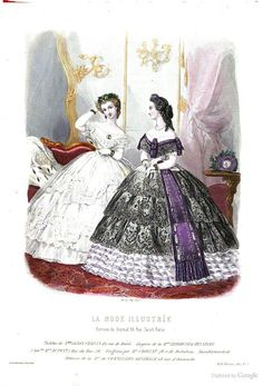 La Mode illustrée 1862