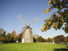 Photographic Print: Old Hook Windmill, East Hampton, the Hamptons, Long Island, New York State, USA by Robert Harding : 24x18in