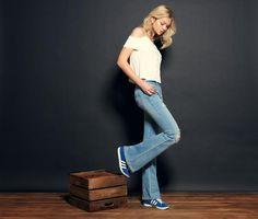 Pale Indigo Skinny Flare Jean Check Out Bloggarageclothing For Fit Details Garage ClothingFlareIndigoSkinnyThin