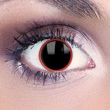 Red Rim Contact Lenses