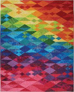 Free download from Hoffman Fabrics: Bali Sochi quilt