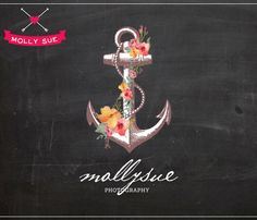 anchor and floral