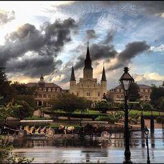 Good morning, New Orleans.