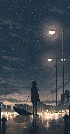 - Anime World 2020 Night Sky Wallpaper, Anime Scenery Wallpaper, Sad Wallpaper, Cute Wallpaper Backgrounds, Cartoon Wallpaper, Cute Wallpapers, 1080p Wallpaper, Iphone Wallpapers, Sky Anime