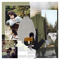 """""""Closer to the nature"""" by rainie-minnie ❤ liked on Polyvore featuring Oris, WearAll, Wolford, Acne Studios, Inverni, Chloé and Yves Saint Laurent"""