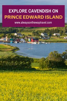Cavendish is the most beautiful place to visit on Prince Edward Island in Canada. If you go, be sure to check out some famous attractions there. Beautiful Places To Visit, Cool Places To Visit, East Coast Road Trip, Solo Travel Tips, Canadian Travel, Single Travel, Visit Canada, Prince Edward Island, Best Places To Travel