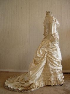 Victorian wedding dress