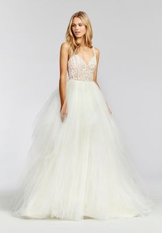 Blush by Hayley Paige Scout 1657 Ball Gown Wedding Dress