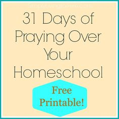 Praying over Homeschooling