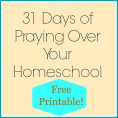 Praying over Homeschooling