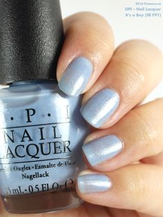 OPI — It's a Boy (Oh Baby! Collection | Summer 2015)