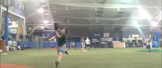 #outfield drills at the High School Winter Training Program; Winter 2013-2014