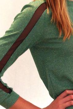 jade pullover by #charlotteronson