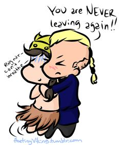 keebler-elf1691askedthetinyviking:     Hi Tiny Viking! I was wondering how you felt seeing Ragnar again and having him ask you to go back home with him? (P.S I adore you Tiny Viking!)  well, he hasn't let go since Athelstan got home…