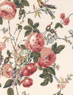 Roses and Hummingbird from GP & J Baker