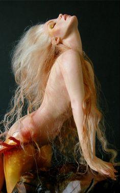 Basking Sunrise Mermaid - Nicole West