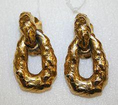 KJL Earrings c. 1968