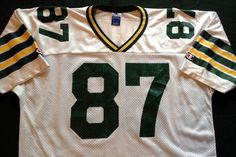 VINTAGE ROBERT BROOKS GREEN BAY PACKERS CHAMPION REPLICA JERSEY ADULT LARGE 48