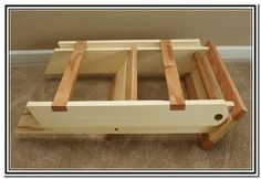 Wooden Folding Step Stool Plans