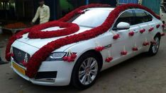 Car Wedding, Home Wedding, Wedding Stuff, Wedding Dresses, Wedding Car Decorations, Garland Wedding, Wedding Bells, Wedding Gallery, Kurti