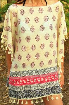 Poncho de verano mujer- CMK Kaftan, Christmas Sweaters, Shirts, Outfits, Clothes, Fashion Ideas, Dresses, Women, Sun