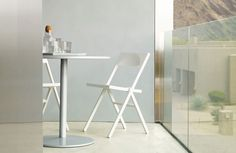 Shop modern outdoor furniture at Design Within Reach. Find modern patio furniture and a modern outdoor dining set. Chair Reupholstery, Ercol Chair, Modern Outdoor Furniture, Modern Chairs, Small Folding Chair, Folding Chairs, Stadium Chairs, Small Space Solutions, Homes