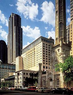 Peninsula Chicago - just above Tiffany's on Michigan Ave!