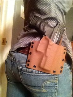 Raven Concealment, kydex OWB Walther PPQ holster - nice, snappy fit
