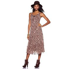 Cute and comfy dress for Summer and Fall. Jessica Howard Scoop Neck Multi-Tier Dress at HSN.com.