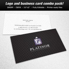 A logo business card set design suitable for american themes a logo business card set design suitable for jewelry and fashion themes logo reheart Images
