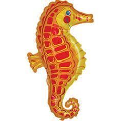 Sea Horse SuperShape Foil Balloon