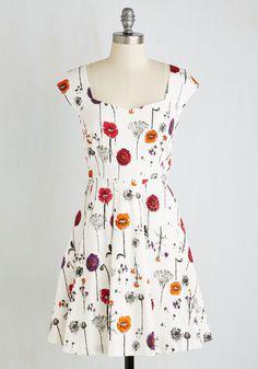 Showered with Flowers Dress | Mod Retro Vintage Dresses | ModCloth.com