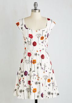Showered with Flowers Dress | Mod Retro Vintage Dresses | ModCloth.com