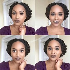 Natural Protective Hairstyles Protective Style For Natural Hair  Natural Hair  Pinterest